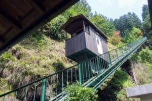 Iya Valley Onsen Cable Car