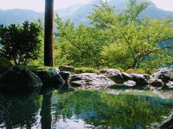 Iya Valley Onsen View
