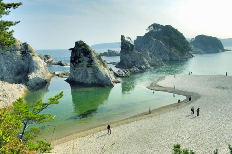 Jodogahama Beach - japan national parks