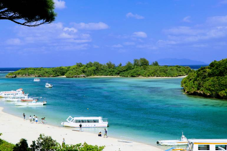 Kabira Bay, Ishigaki, Okinawa