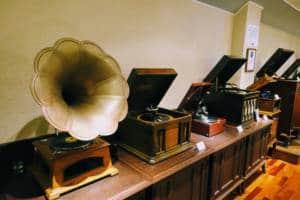 Kanazawa Phonograph Museum Display