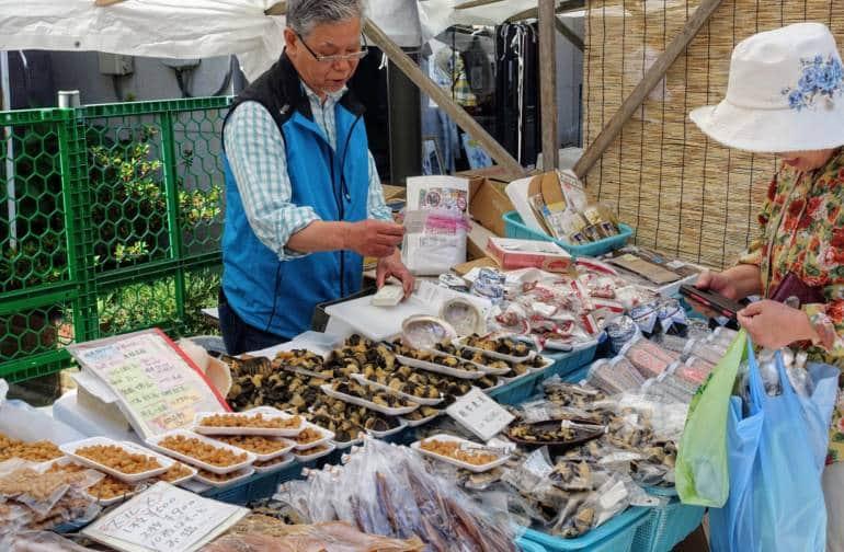 Wajima Market Stall