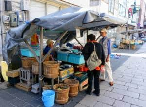 Wajima Market Stalls