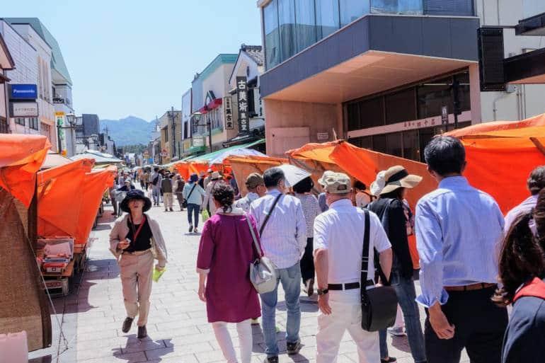 Wajima Market Street