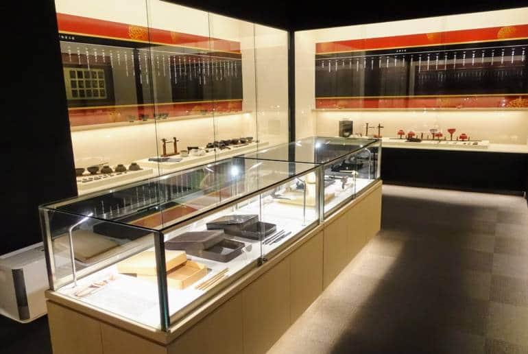 Wajima Museum Inside