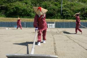 Wajima Salt Farm Sand