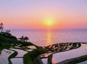 Wajima Senmaida Sunset Two
