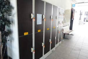 Wajima Station Lockers