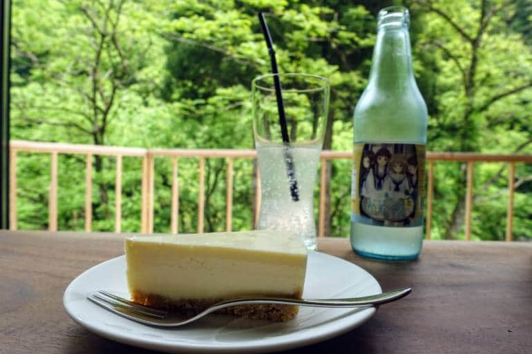 Yuwaku Cafe Lente Cheesecake