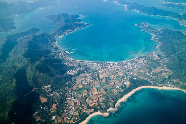 Amami Oshima coastline
