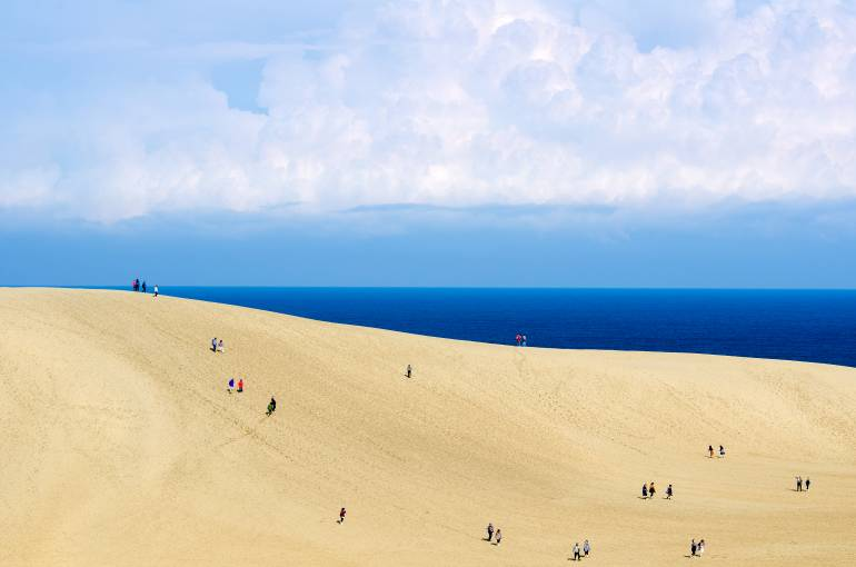 Get to the Japan sand dunes with JR West passes