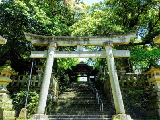 Hatori Shrine Yamashiro Onsen