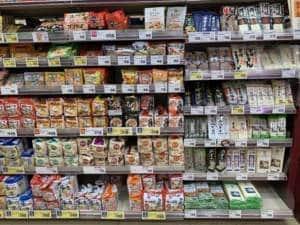 noodles Japanese supermarket VG