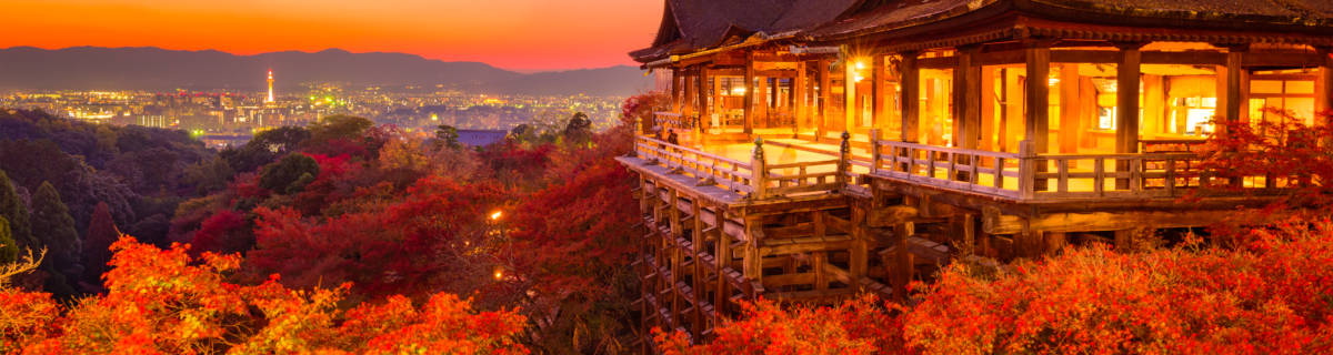Viewing Autumn Leaves in Kyoto and Beyond