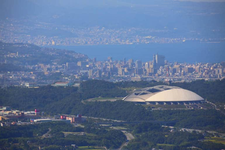 Oita City view, Oita Prefecture