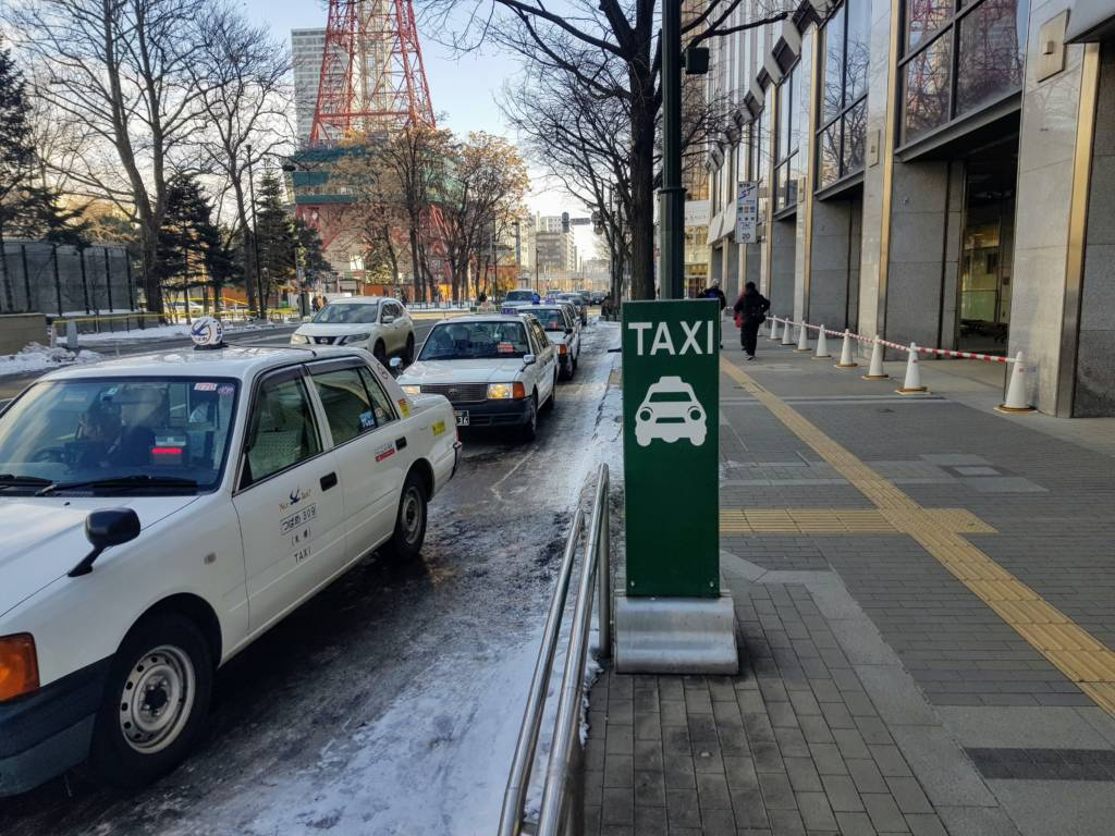 Taxi Stand Sapporo