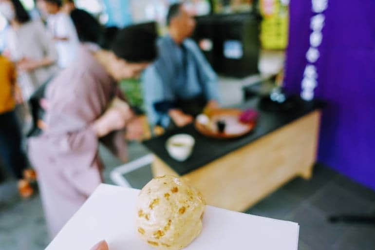 Kangetsusai Tea Ceremony Sweet
