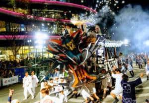 Omuta Daijayama Festival, Fukuoka