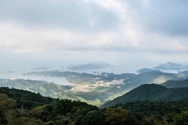 Mt. Asama view