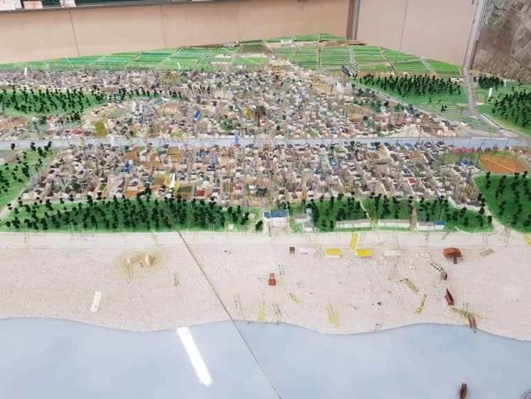 Arahama Elementary School model