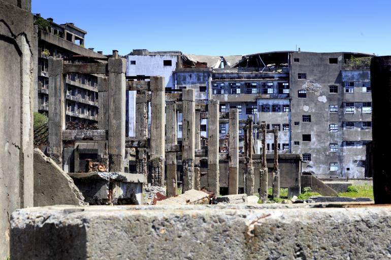 Japan ruins
