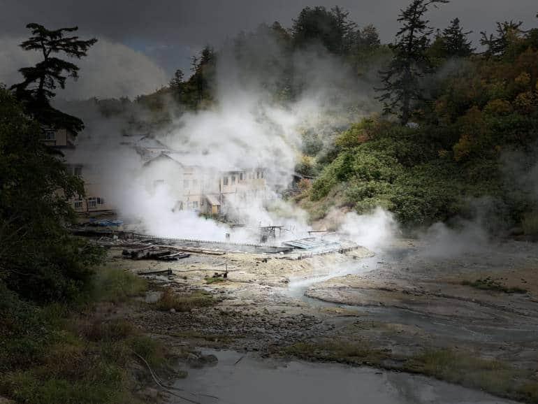Goshokake onsen hot spring Akita