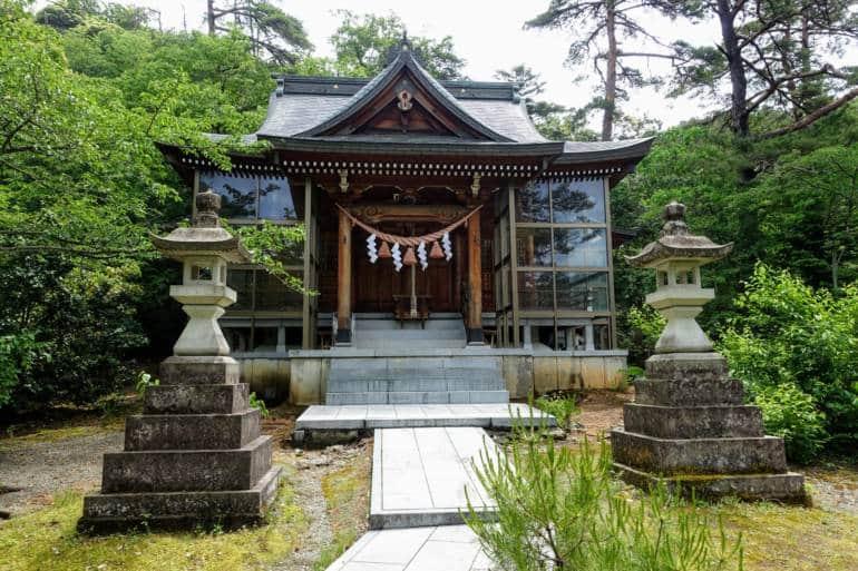 Higashiyama Shrine, Kakusenkei Gorge, Yamanaka Onsen