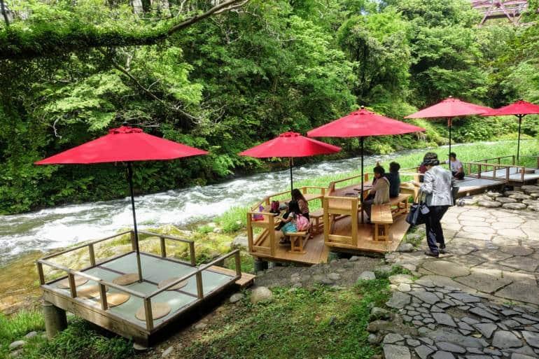 Kakusenkei Kawadoko Riverside Cafe
