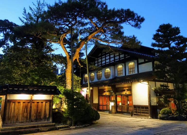 Awazu Onsen Hoshi Ryokan Outside