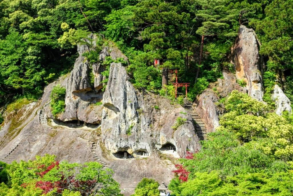 Awazu Onsen - Natadera Temple Caves