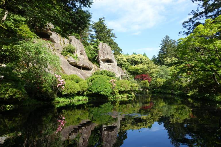 Awazu Onsen - Natadera Temple Pond