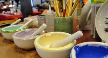 Kaga Pottery Paints