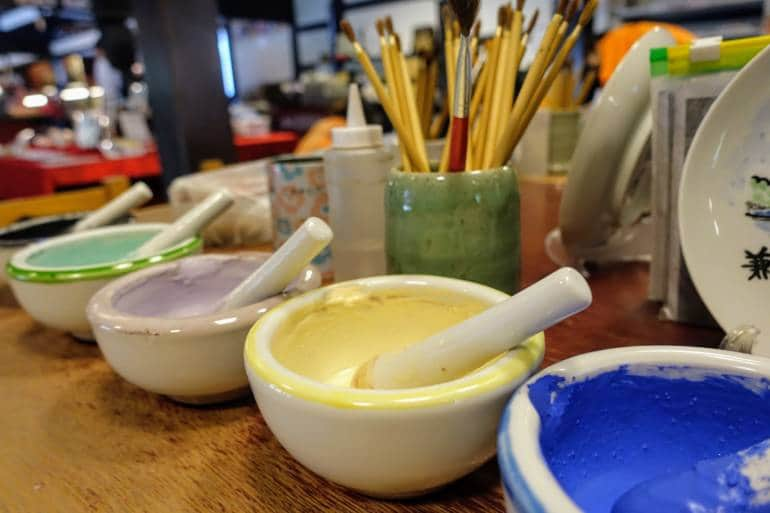 Kaga Pottery Paints
