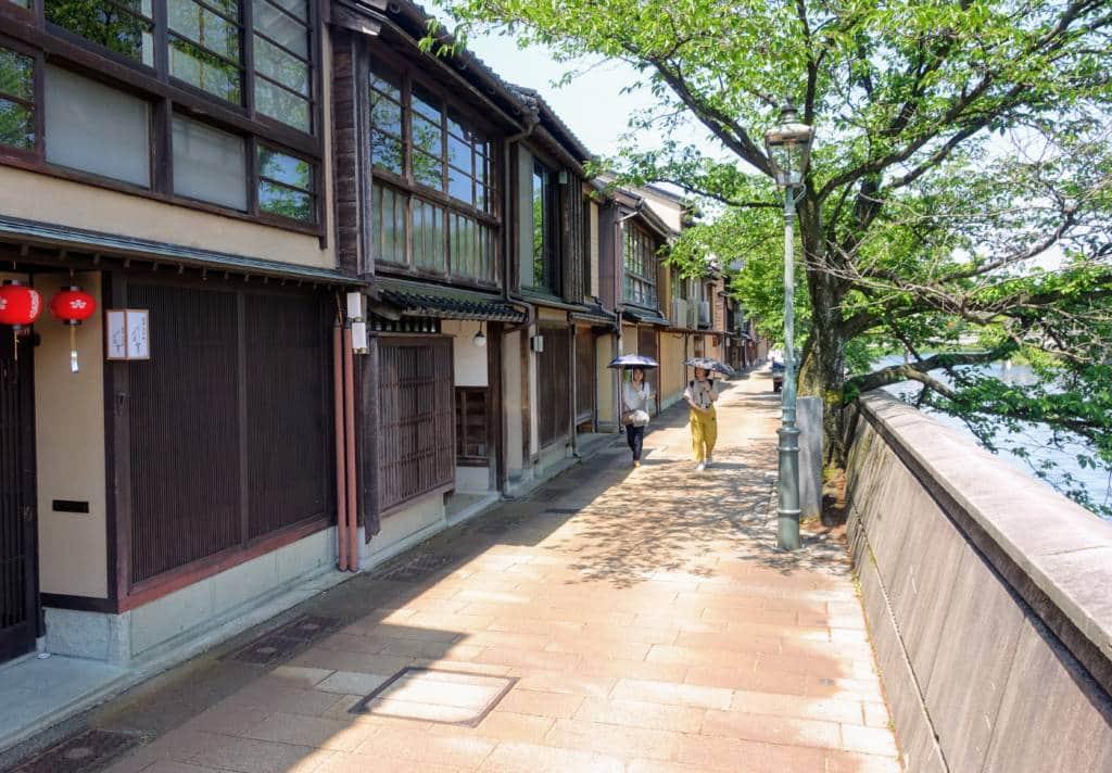 Kanazawa Kazuemachi Chaya District