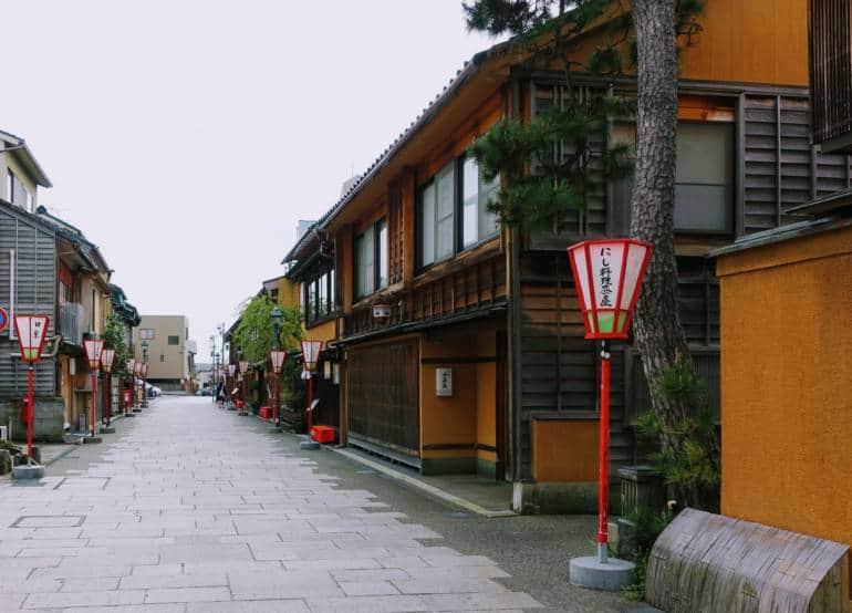 Kanazawa Nishi Chaya District