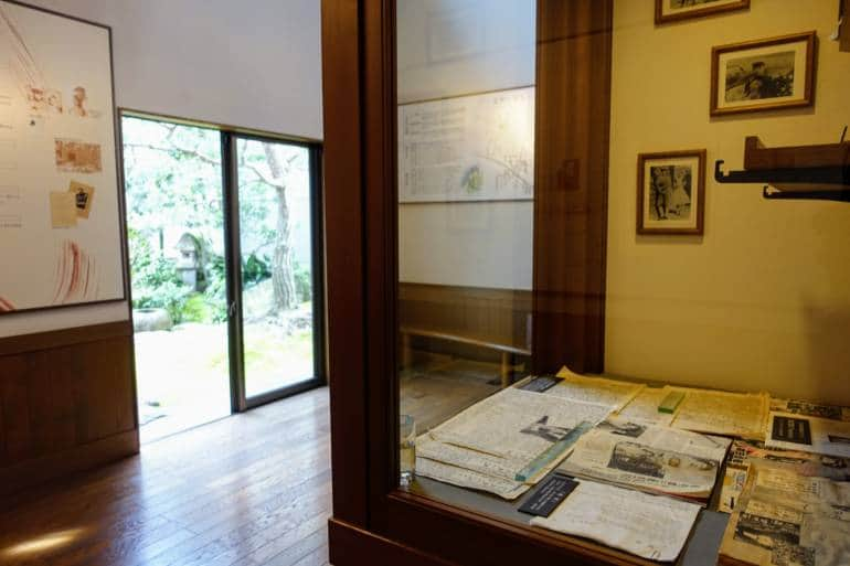 Kanazawa Nishi Chaya Shiryokan Museum Inside