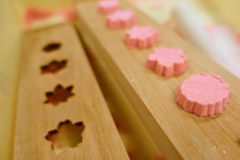 Kanazawa crafts Sweet Molds