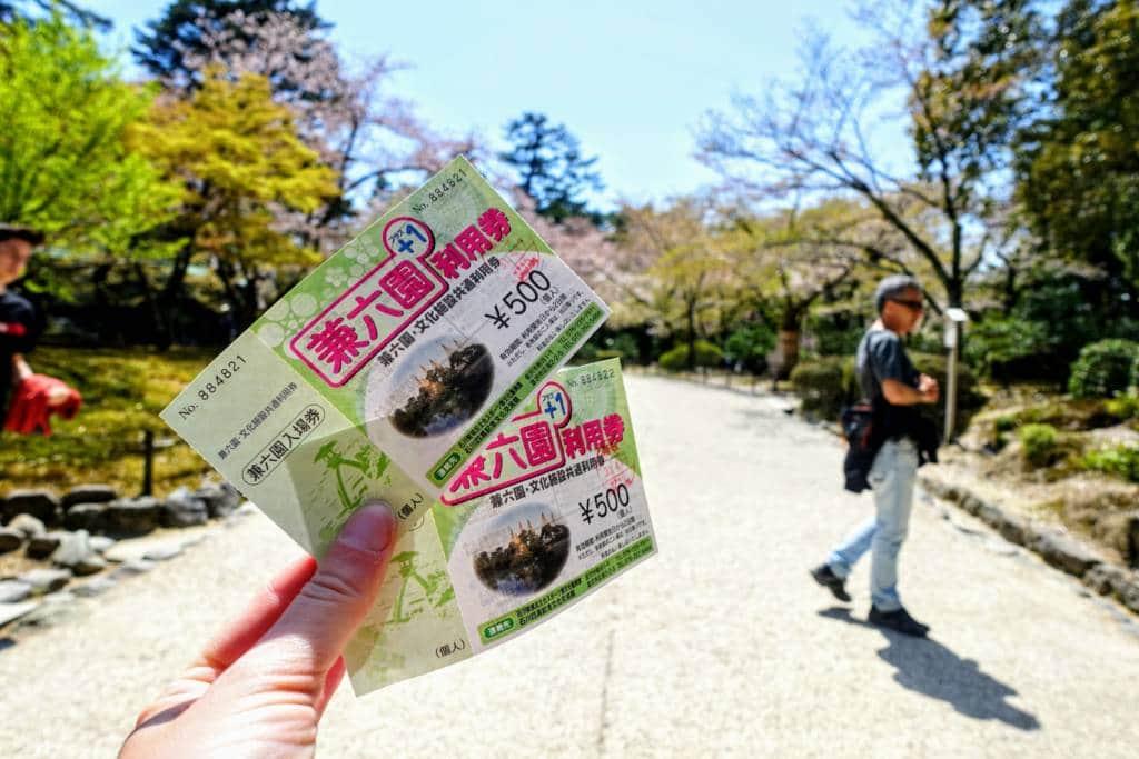 kanazawa discount passes
