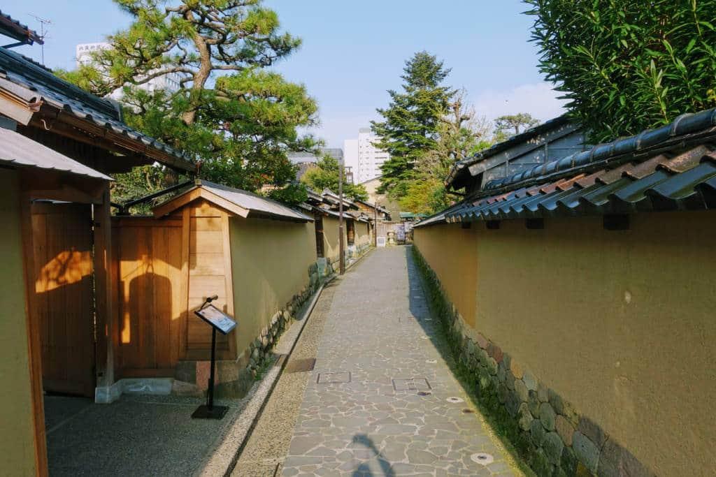 Kanazawa Samurai District Street