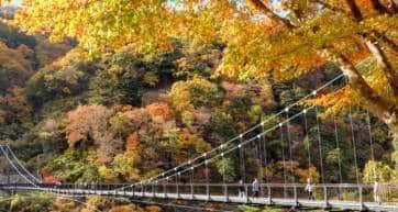 Nikko - Kinu-Tateiwa-Otsuribashi-Bridge