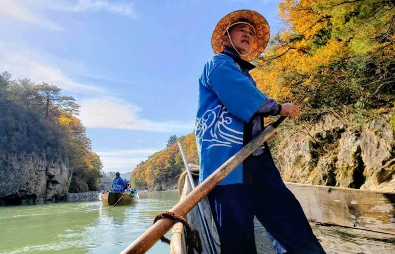 Nikko National Park - Kinugawa Onsen Boat