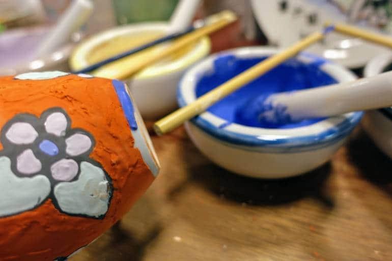 Pottery kanazawa crafts