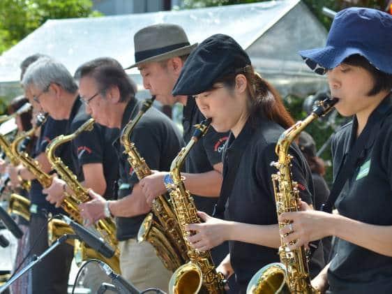 jozenji street jazz festival sendai miyagi japan