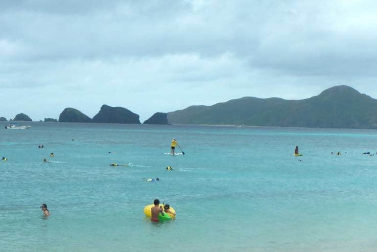 Ama Beach on Zamami Island