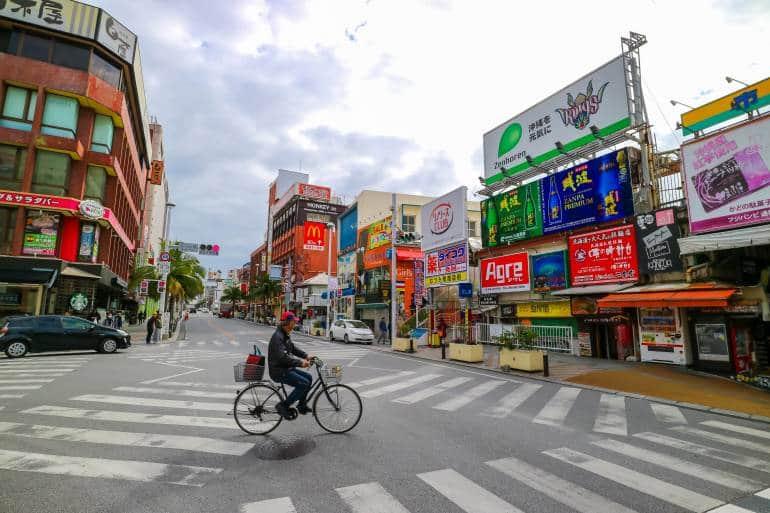 Kokusai Dori Naha Okinawa