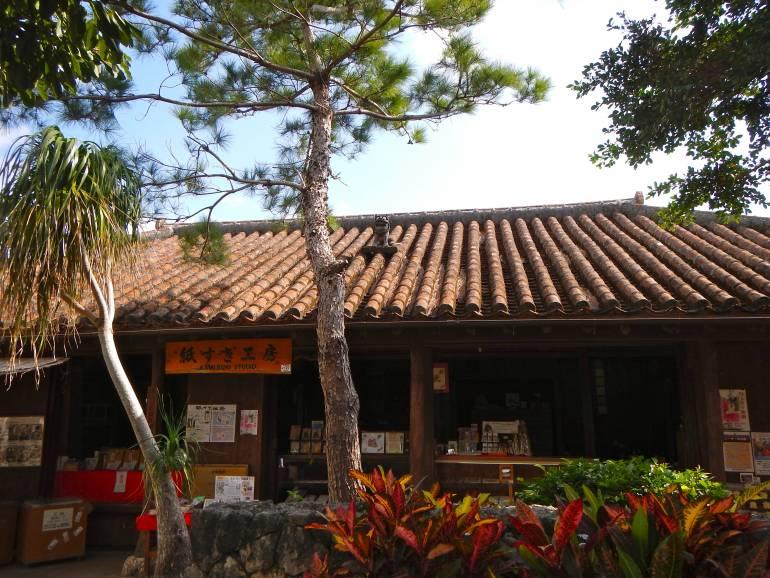 Architecture at Okinawa World