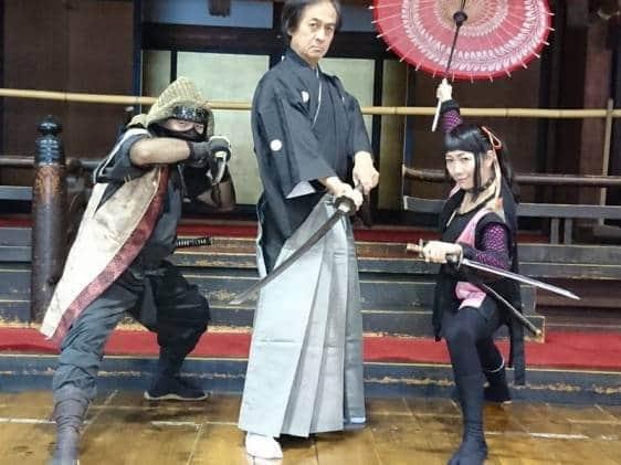 osaka castle tatedou experience tiqets japan