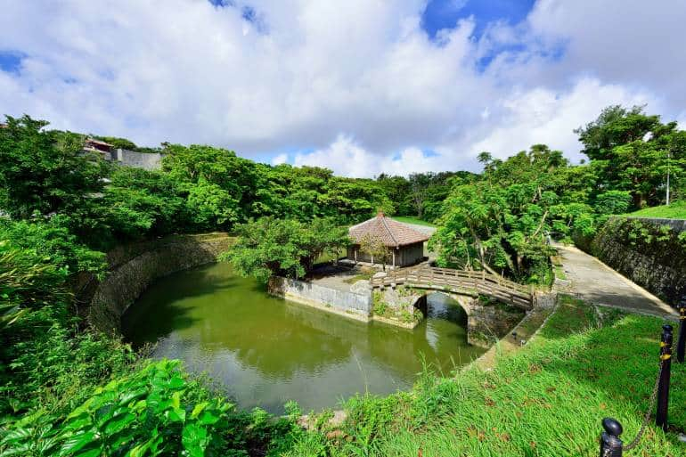 Ryutan pond at Shuri Castle