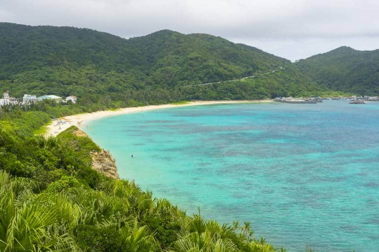 Arahen Beach on Tokashiki Island
