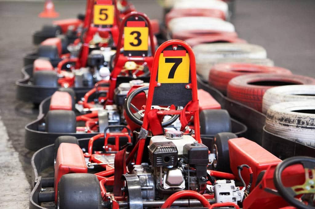 Red Go Karts
